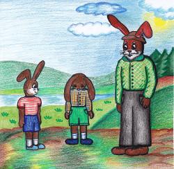 Zahanbený zajíc