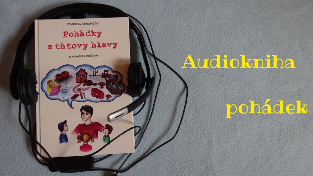 Audiokniha je na světě